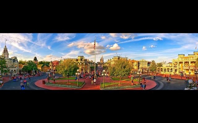 Disney - Main Street USA Panoramic (Explored)