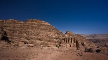 Petra : esplanade of al-Deir