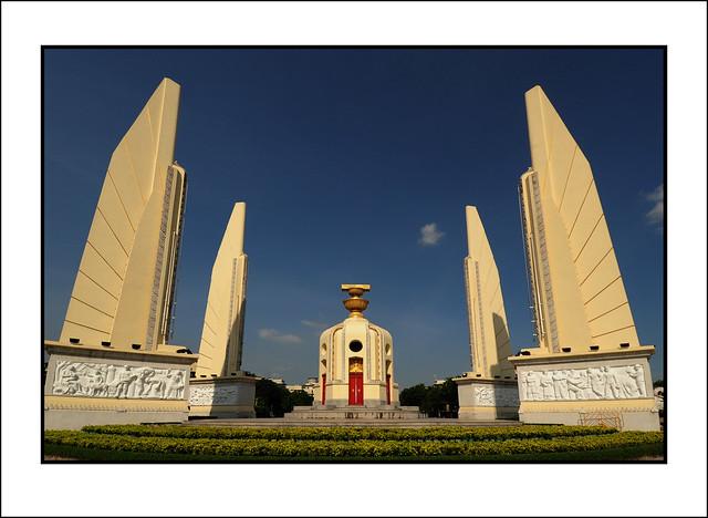 The Relief Panels on Democracy Monument - Corrado Feroci, aka Silpa Bhirasri. Bangkok. 2009.