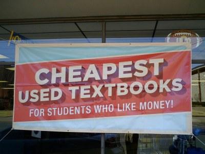 Buy used textbooks