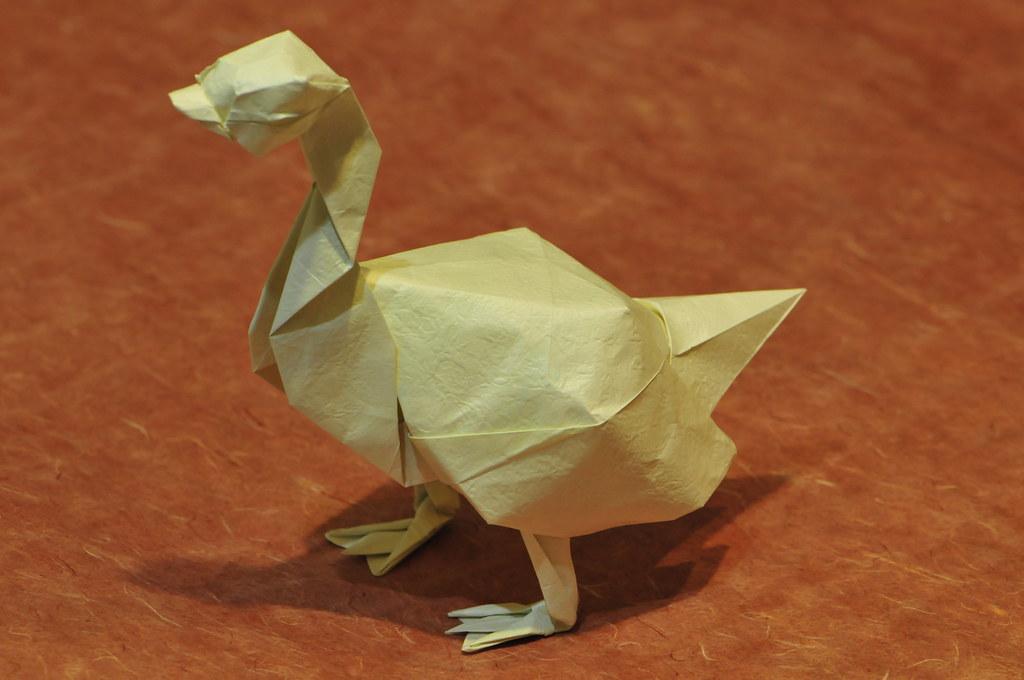 Origami Goose Diagram