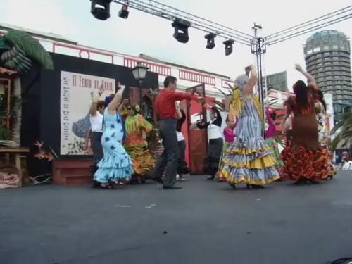 II Feria de Abril en Las Palmas de Gran Canaria Por sevillanas la cuarta b