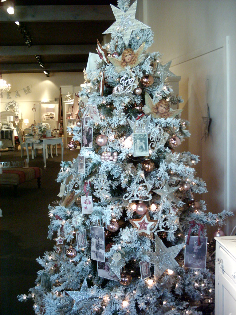 Shabby Chic Christmas Tree  WWL  smwphotos  Flickr