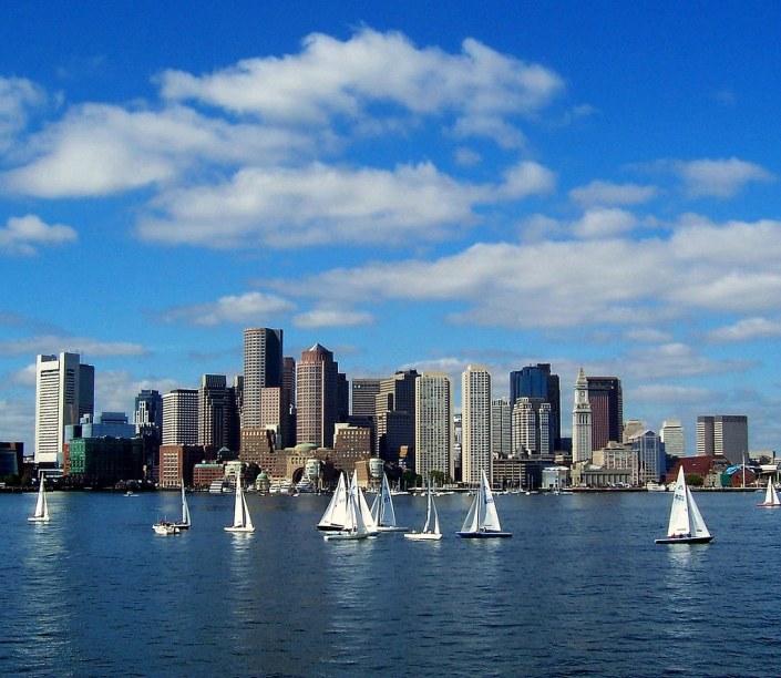 Sailing - Boston Harbor - Boston Skyline | Boston Harbor | FL Smith | Flickr