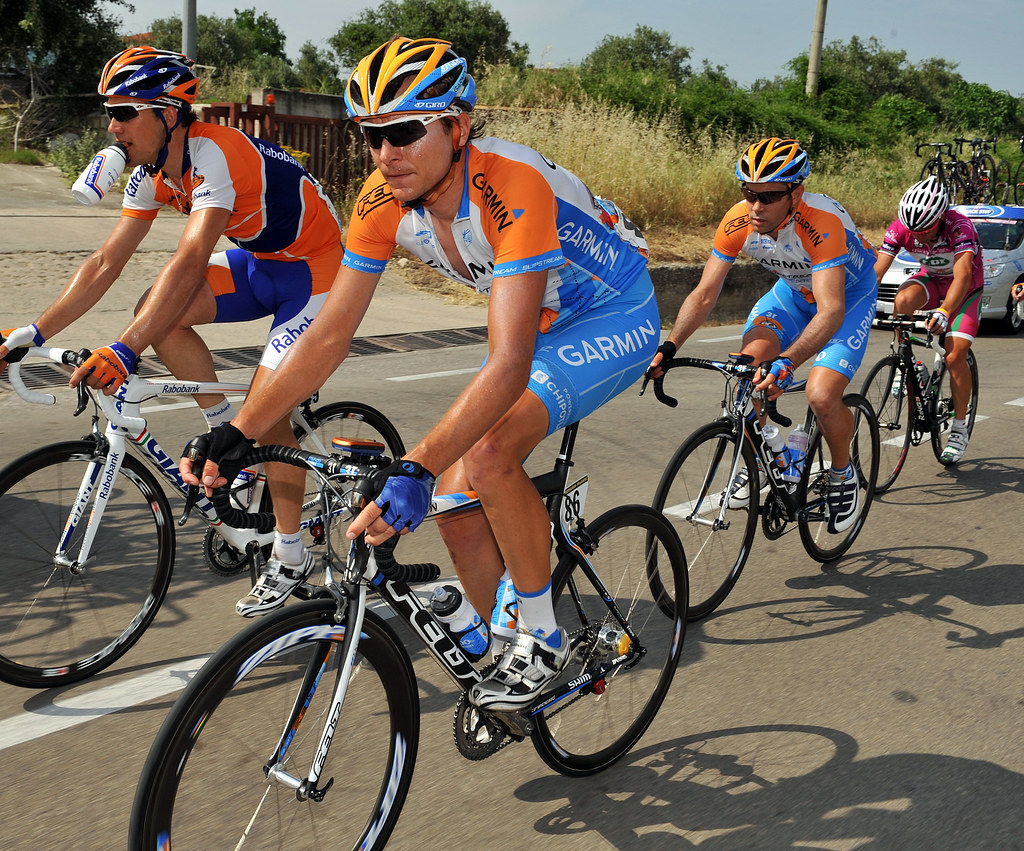 Giro d'Italia 2009 - stage 18 | Danny Pate and Julian Dean o… | Flickr