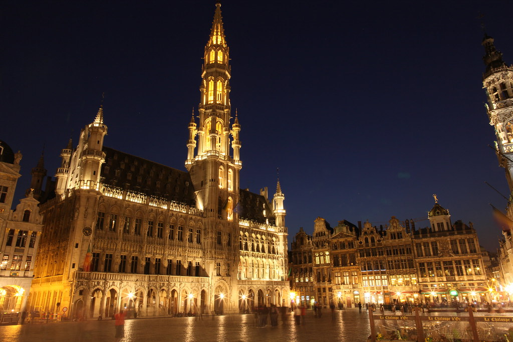 Grand Palace Brussels Belgium Jy7088 Flickr