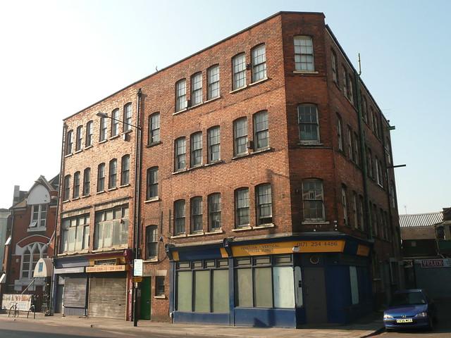 Ilex Works (1900), Northwold Rd, Stoke Newington