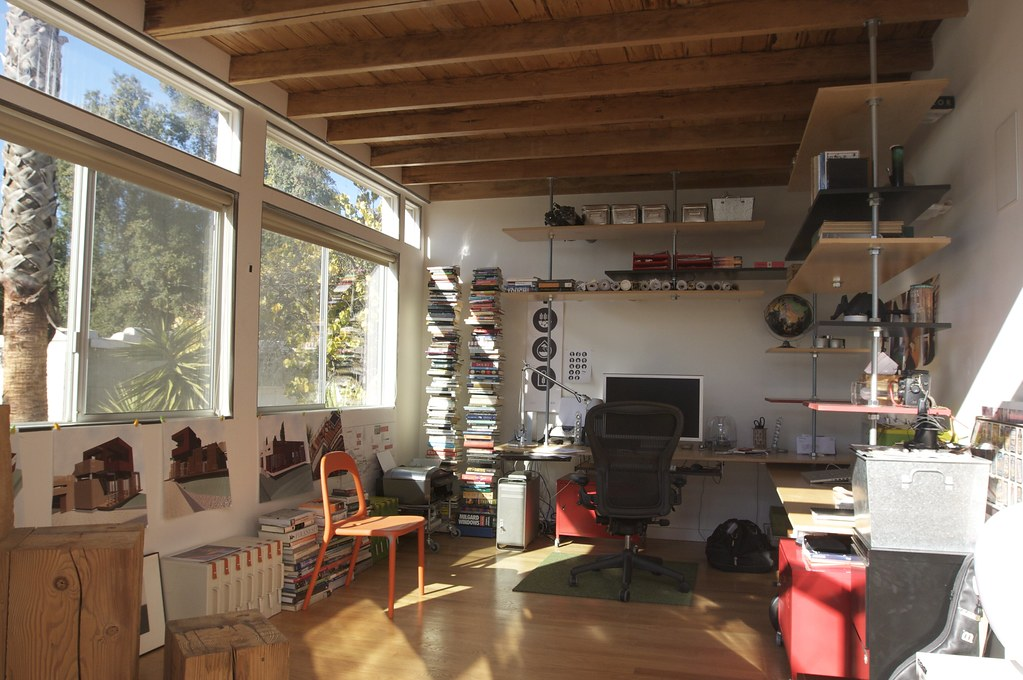 Home Office For Architect Home Office With Custom Built