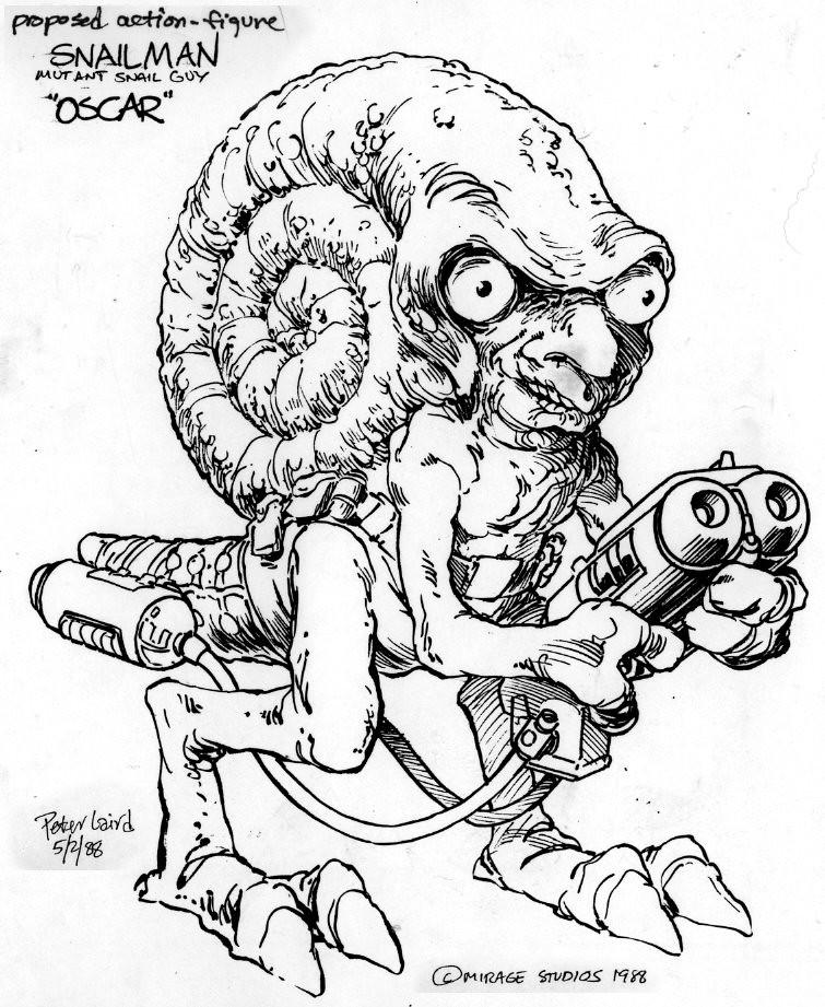 Blast from the Past #62 repost: Evil Mutants // ' Oscar
