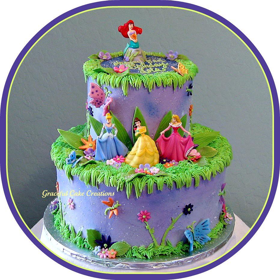 Disney Princess Birthday Cake Grace Tari Flickr
