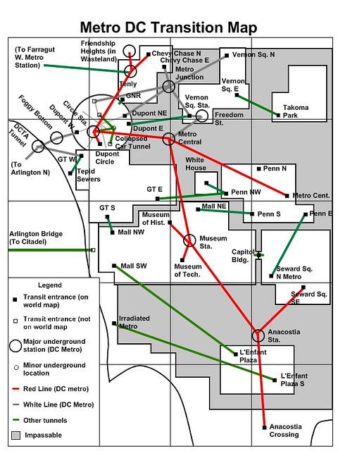 Fallout 3 Metro Map : fallout, metro, Current, Florida, Fallout