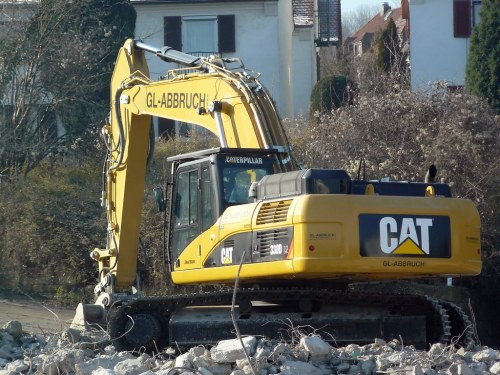 small resolution of  cat 330d gl abbruch by slorf