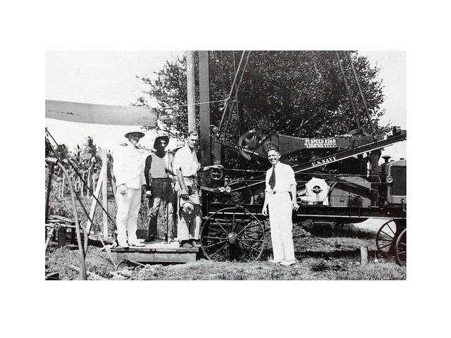 First Well on Guam, 1937