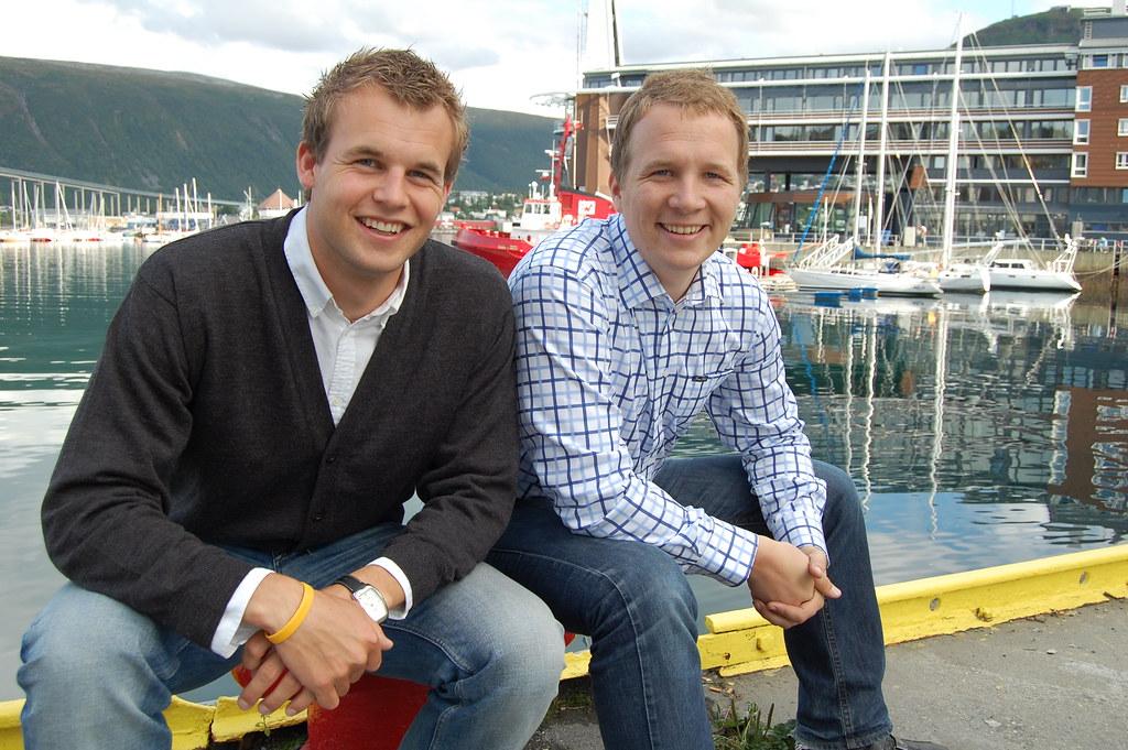 Kjell ingolf ropstad (ur.1 czerwca 1985 w m. Kjell Ingolf Ropstad Og Filip Rygg Pa Kaien I Tromso Flickr
