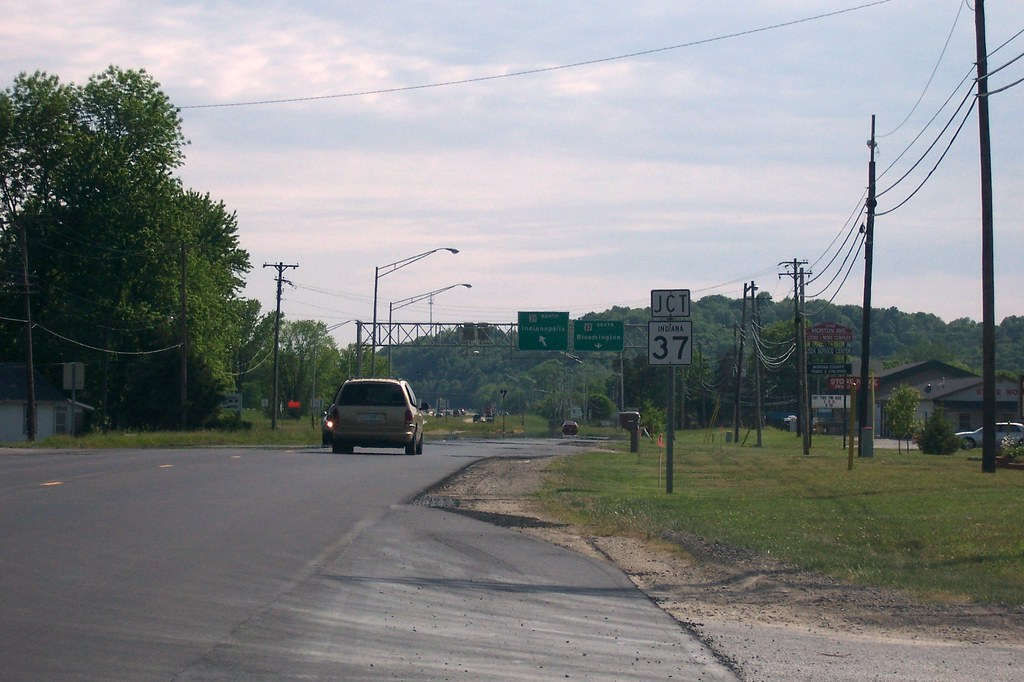 Merging with SR 37