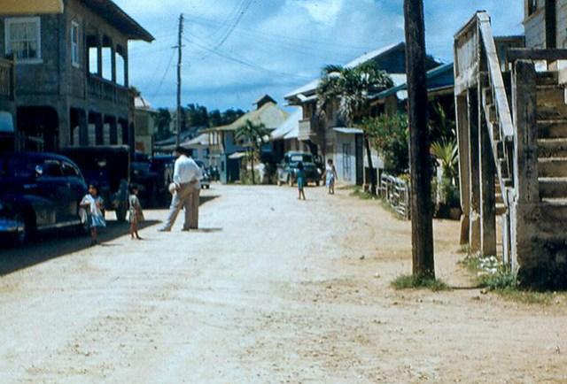 Main Street, Inarajan, 1950
