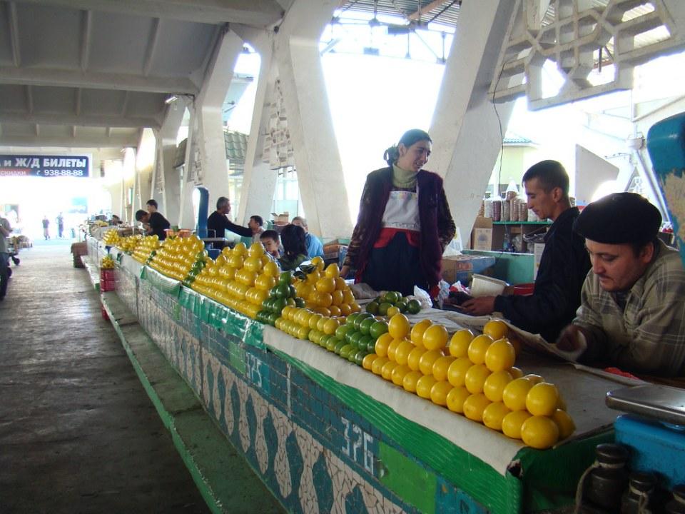 Tashkent mercado Uzbekistan 16