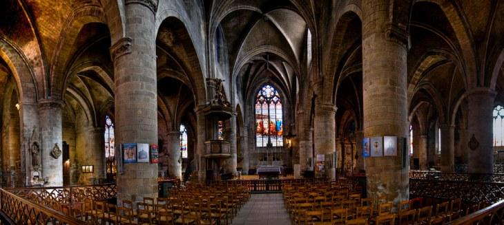 Église Saint-Pierre-du-Queyroix, Limoges (F)   Canon EOS400D…   Flickr