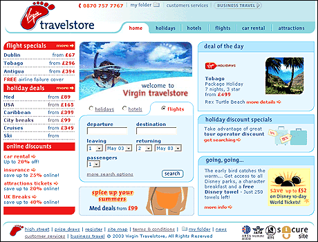 Virgin Travelstore