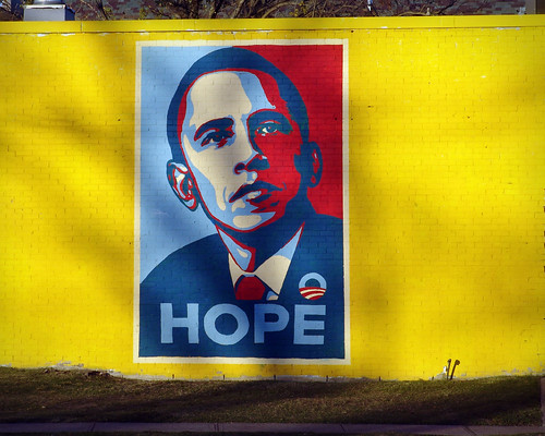 """Hope"" on Inauguration eve"