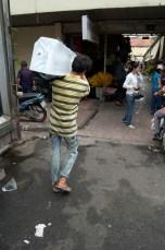 Eis für den Fischmarkt