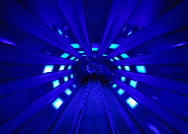 Disney - Space Mountain Blue Space Shot Tunnel (Explored)
