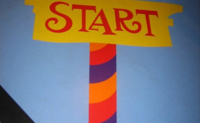 Start Candyland Board Game Floor Kellysongynelson