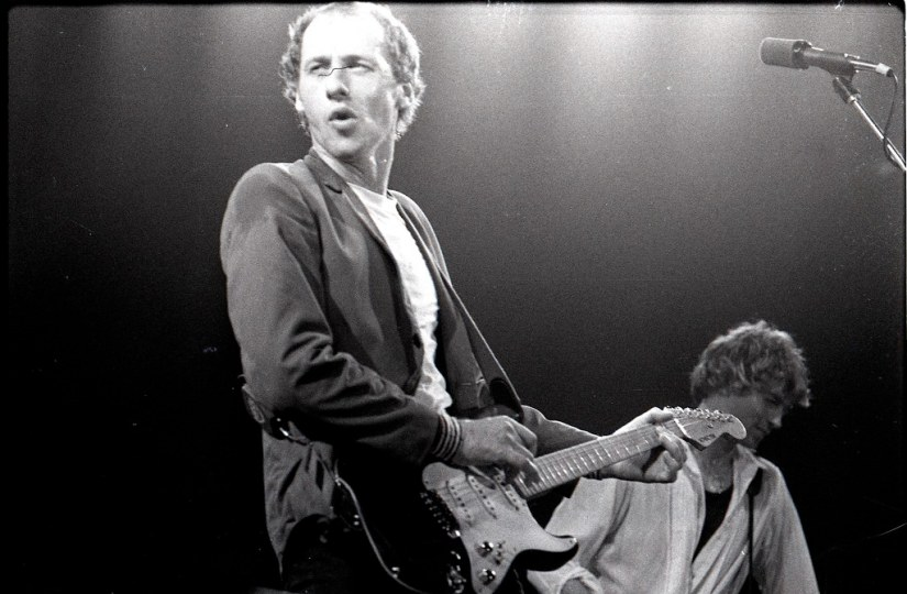 Mark Knopfler of Dire Straits with Hal Lindes, Amsterdam 1… | Flickr