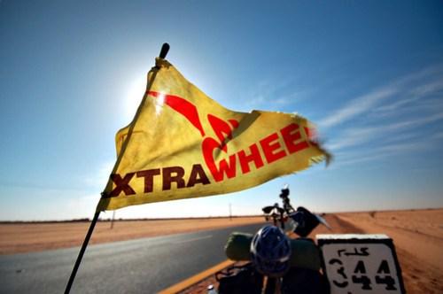 Extrawheel in the Sahara