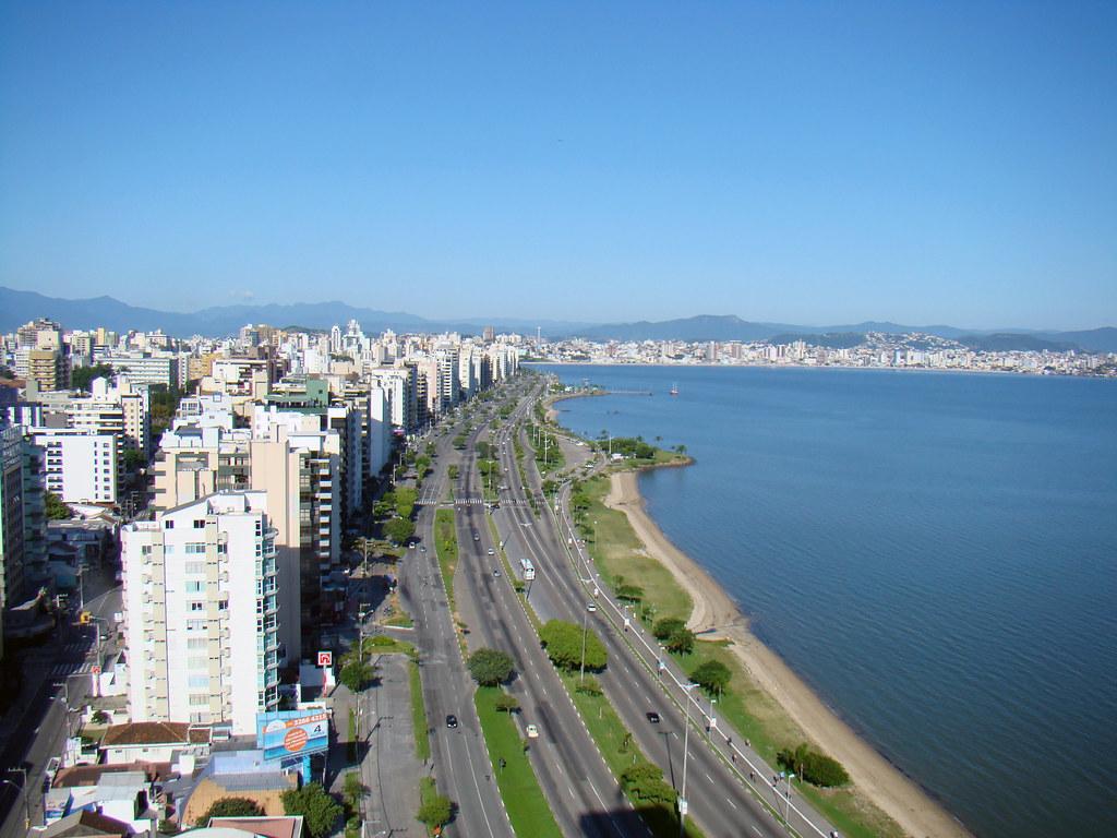 Avenida Beira Mar (Florianópolis) | Foto tirada do Majestic … | Flickr