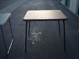 Costco Folding Card table - $15 | lmekemson@yahoo.com | Flickr