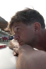 Philipp am Strand in Hoi An