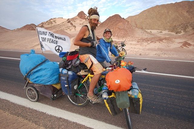 Two nomads on a cycling adventure (Explored)