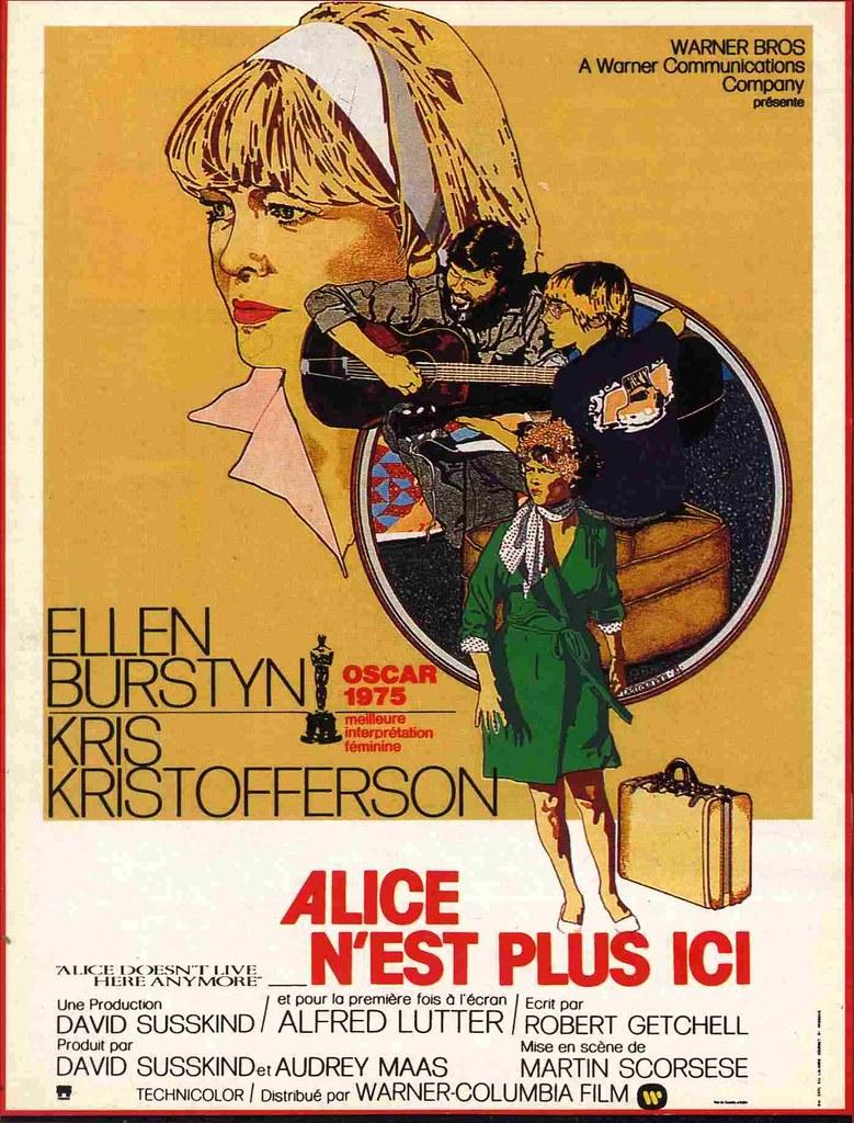 Alice n'est plus ici (1974), un film de Martin Scorsese