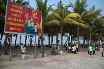 Vorplatz zum Strand Hoi An