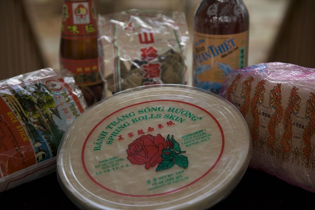 Vietnamese Eggroll Ingredients