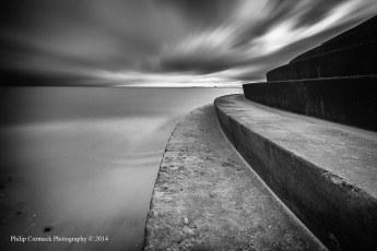 Steps at Portobello Beach