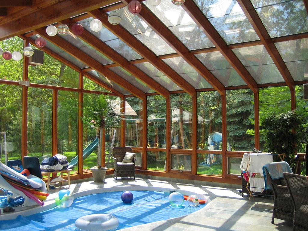 Lindal Indoor Pool Sunroom Make Your Own Family Get Away