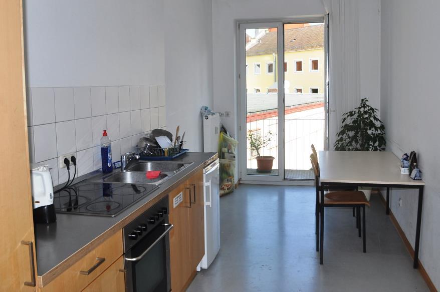 Cocina en apartamento  Los apartamentos compartidos