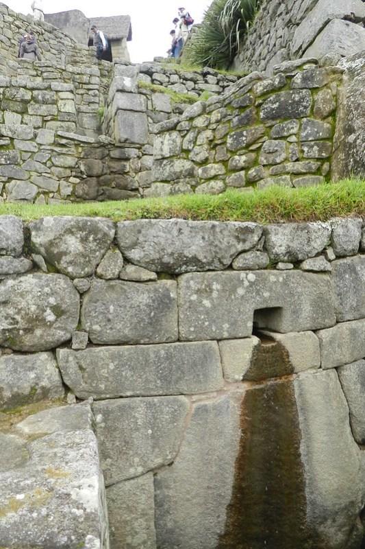 Peru Machu Picchu escalinata de las fuentes 03