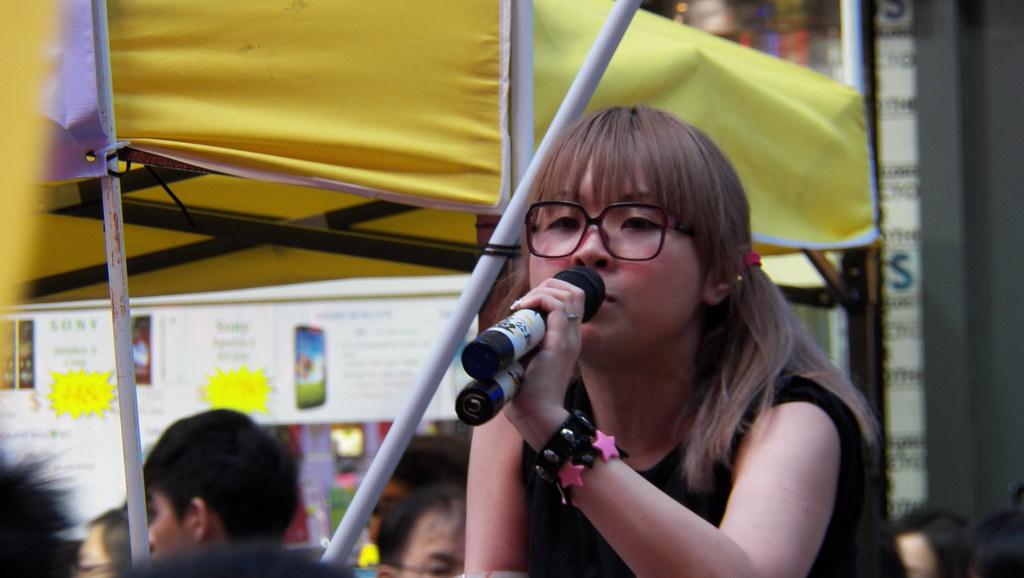 17 捍衛公平公義 支持林慧思老師 - 熱血公民 (Sai Yeung Choi Street, Monk Kok,…   Flickr