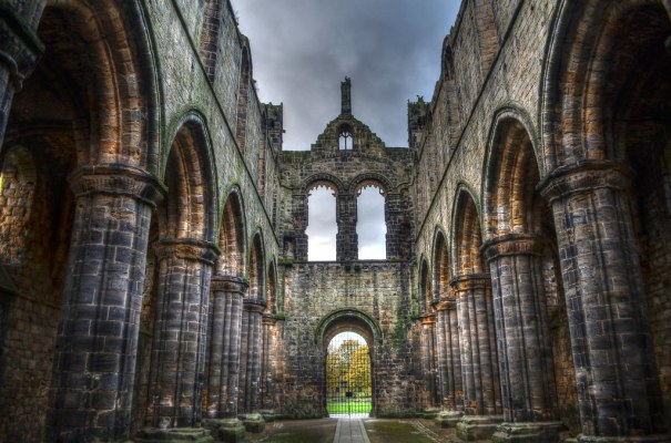 Kirkstall Abbey Main Hall