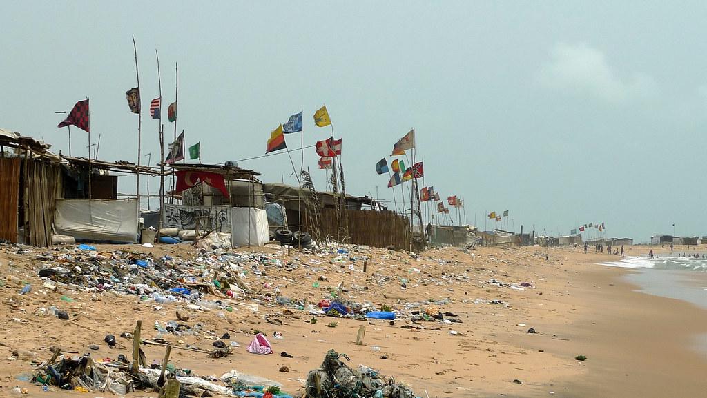 Cotonou Benin Central Beach Slum One Of The Best