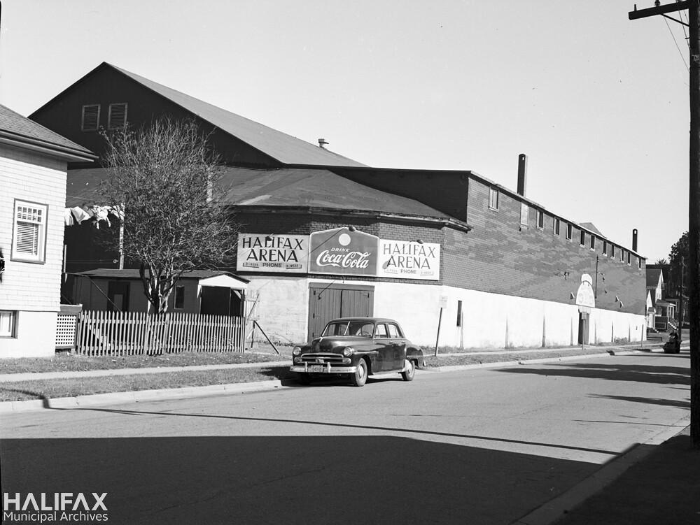 Halifax Arena prior to demolition Shirley St  Date