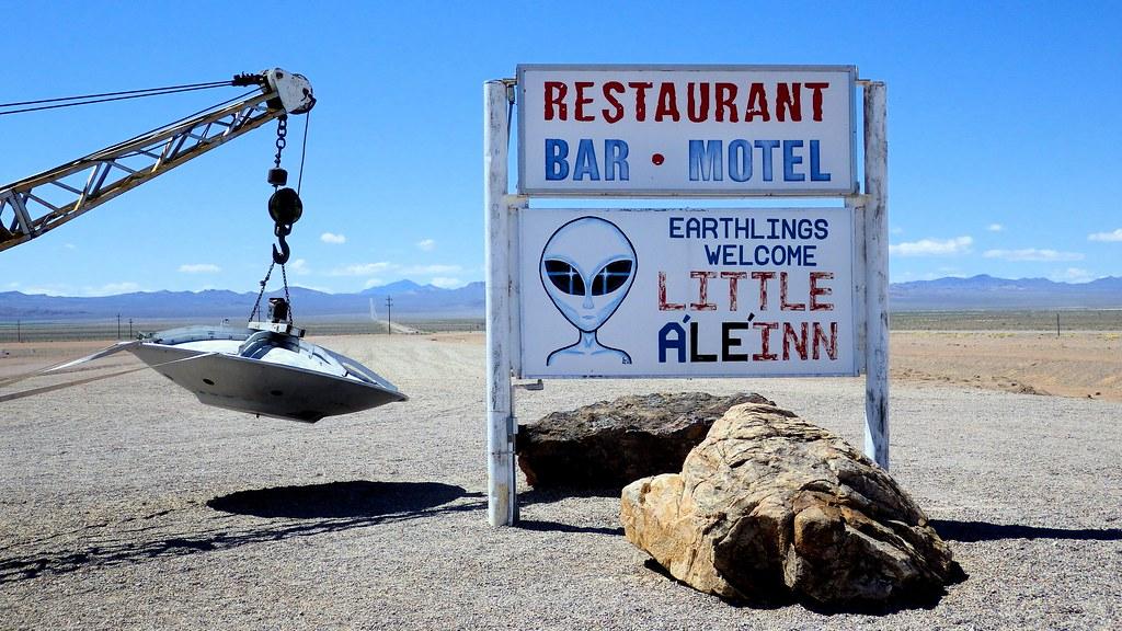 The Little  A'le'inn - ¿Asalto al Área 51? Visita estos lugares en tu viaje por carretera