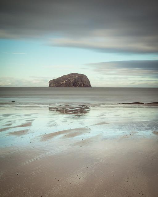 Bass Rock from Seacliffe, East Lothian