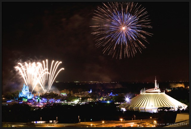 Walt Disney World Magic Kingdom - Wishes Fireworks
