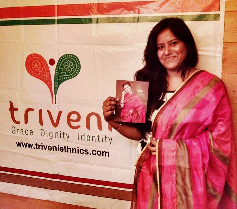 Triveni Saree bloggers meet