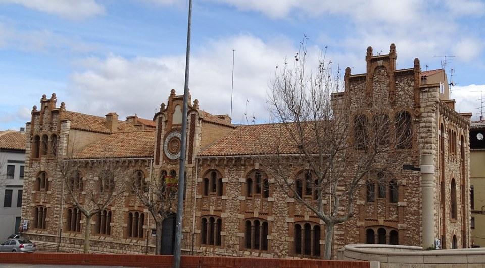 Teruel Escuela del Arrabal Archivo Historico Provincial