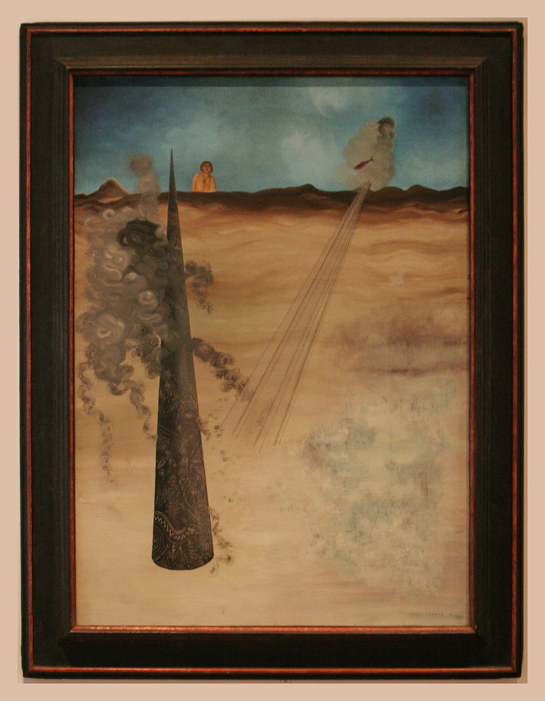 Leinwand Collage Yves Tanguy (1900-1955) Je Suis Venu, Comme J'avais Promis… | Flickr